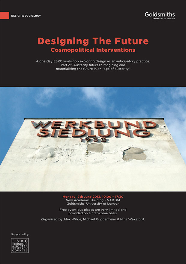 Designing the Future: Cosmopolitical Interventions