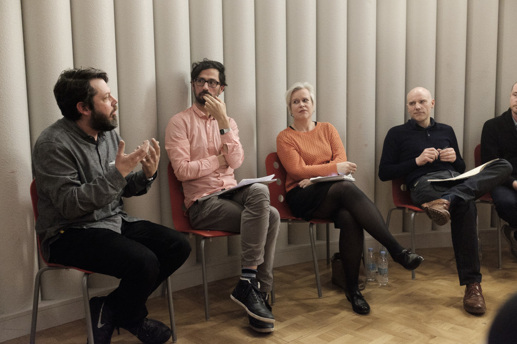 Daniel Charny in conversation about Studio Studies at the V&A.